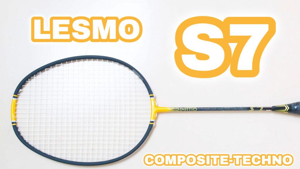コンポジットテクノバドミントンLESMO-S7