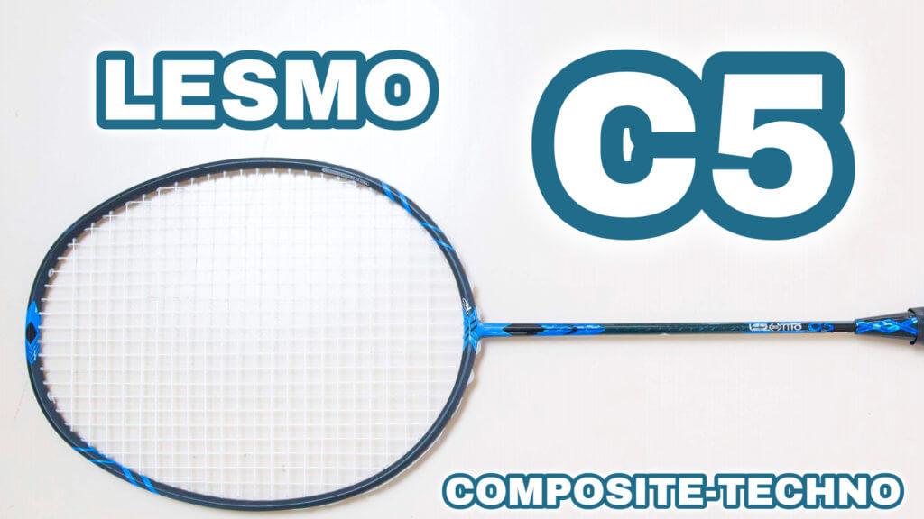コンポジットテクノバドミントンLESMO C5