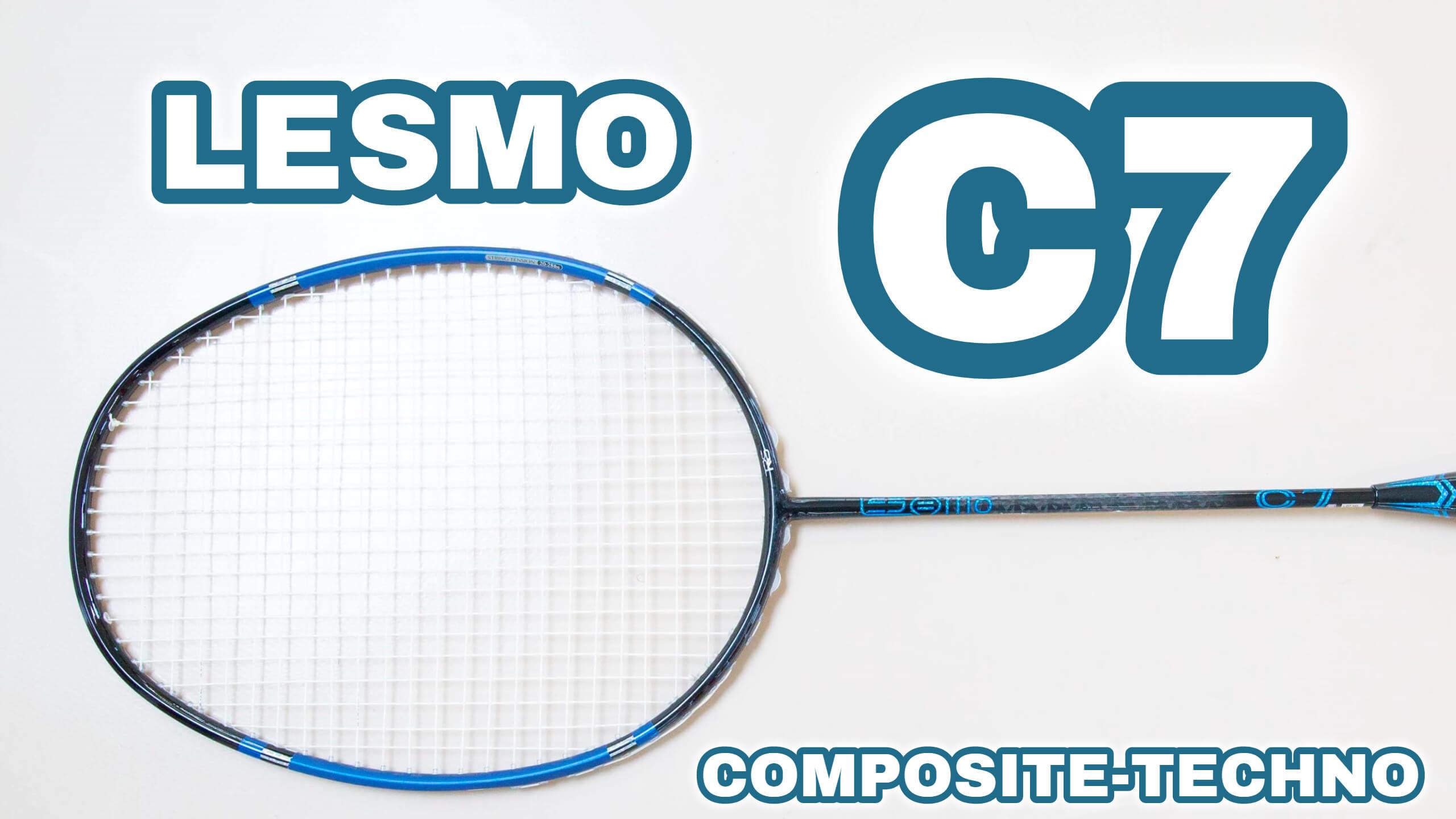 コンポジットテクノバドミントンLESMO C7